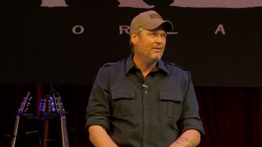 Country music superstar Blake Shelton visits Orlando to open new restaurant