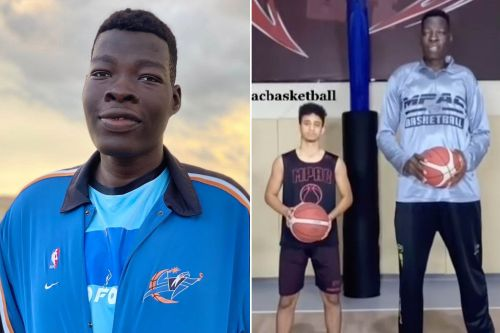 Meet the 7-foot-9 basketball enigma Abiodun Adegoke