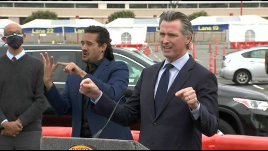 Gavin Newsom says recall is 'absolutely not' influencing reopening plans