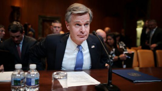 FBI Director Wray Testifies Before Congress For 1st Time Since Capitol Attack