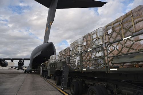 JB Charleston teams up with local charity to airlift humanitarian aid to Honduras