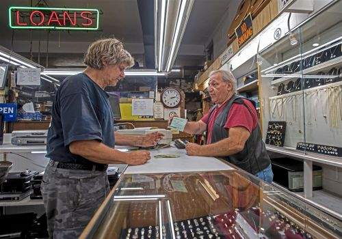 Pawn shops fall on hard times as products dry up and customers are flush with cash