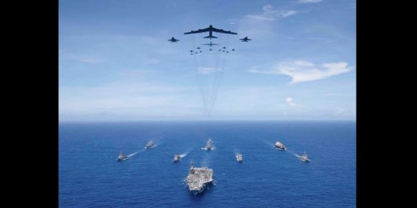 One picture shows why Beijing's 'carrier killer' missiles won't win it the South China Sea in a fight