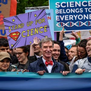 April 2017: Earth Day Network co-organizes March for Science