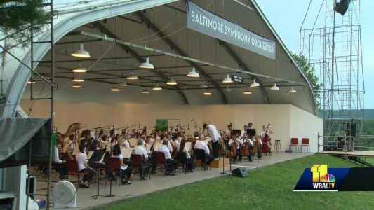 Baltimore Symphony Orchestra plays last concert after Summer Series canceled
