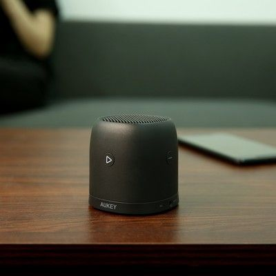 Aukey's mini Bluetooth speaker is down to its lowest price ever right now