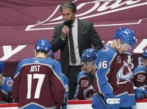 Avalanche coach could miss Game 6 after irregularity in COVID test