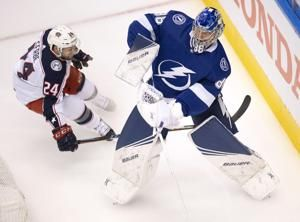 Lightning outlast Blue Jackets 3-2 in 5 OT thriller