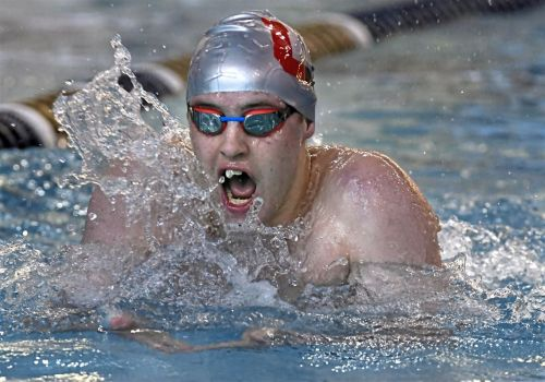 Upper St. Clair's Josh Matheny opening some eyes with his PIAA swimming performance