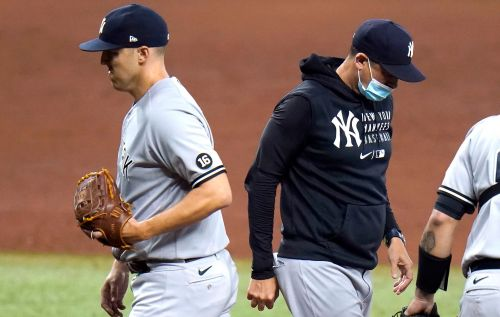 Yankees ripped by Rays as four-game win streak snapped