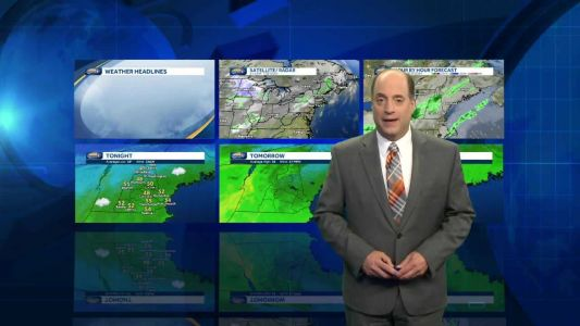 Watch: Clouds win out into Wednesday