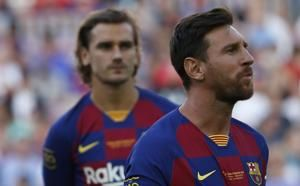Messi back in training, could be fit for weekend's game