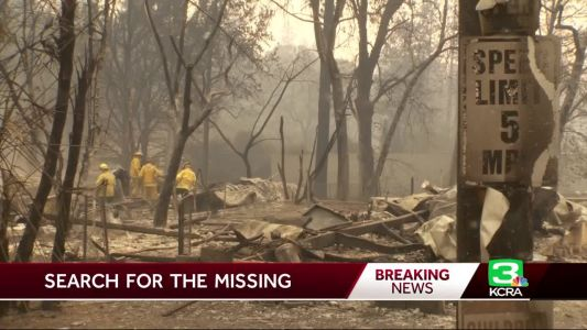 'One of the most difficult stories to tell':  Fire crews search rubble for remains of missing
