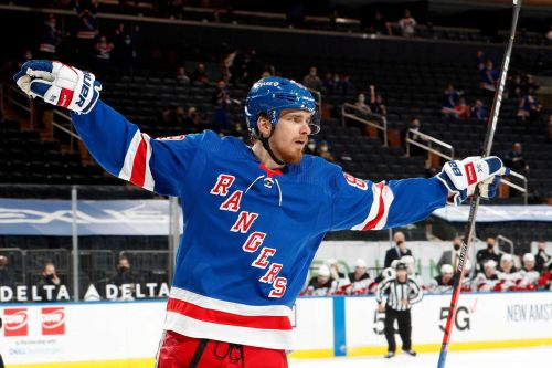 Pavel Buchnevich's birthday hat trick earns him place in Rangers history