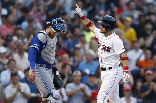 Chavis grand slam propels Red Sox to victory over Blue Jays