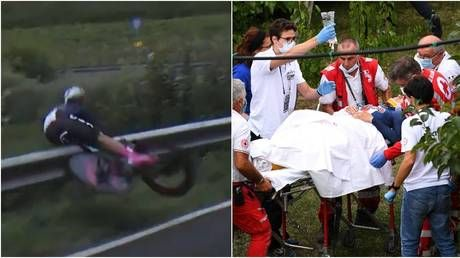 'Horrifying': US cycling sensation Chloe Dygert airlifted to hospital after sickening leg injury in downhill crash