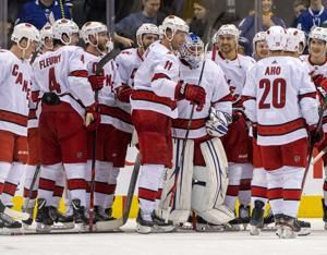 Hurricanes recall 2 goaltenders after losing Reimer, Mrazek