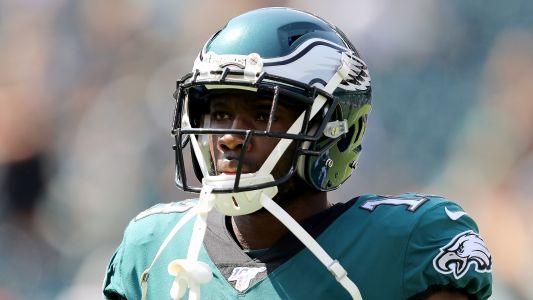 Did the Eagles' Nelson Agholor get caught on Twitter using a burner account?