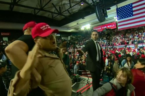 BBC Camera Operator Is Attacked at Trump Rally