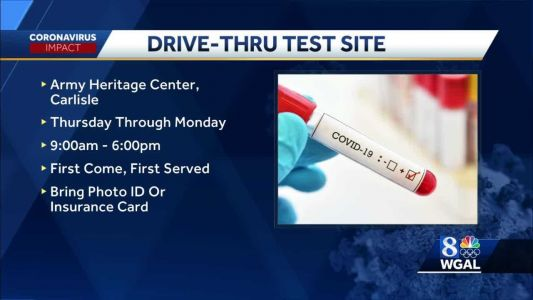Free COVID-19 testing site to open in Cumberland County