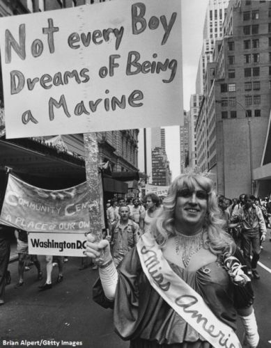 A look back at the gay rights movement in America: