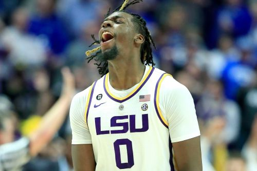 LSU star Naz Reid keeping eye on prize and not NBA - yet