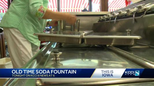 Scoop of History: Iowa town brings back soda fountain