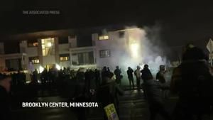 Third night of protests after Daunte Wright shooting