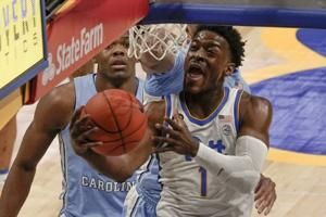 North Carolina wins 3rd straight, cruises past Pitt 75-65