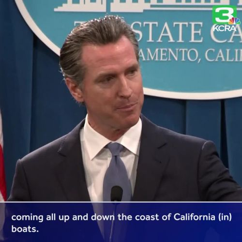 Gov. Newsom responds to emergency declaration to fund border wall