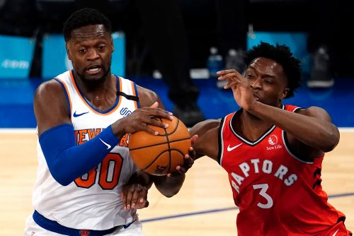 Knicks keep it close but lose tough one to Raptors