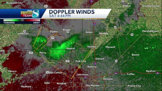 Severe thunderstorm warning issued for the metro