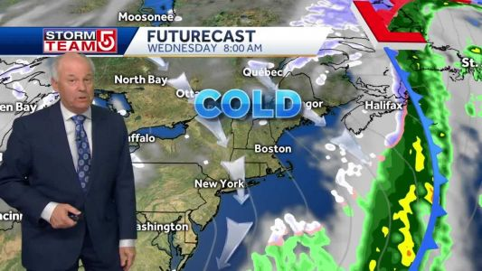 Video: Windy, winter-like cold air lasts into midweek