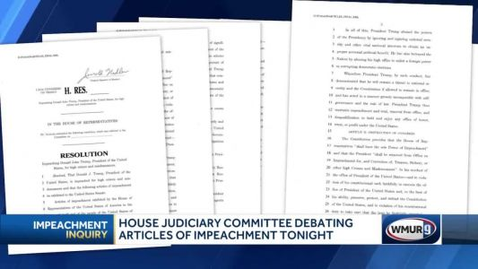 Impeachment Articles Debate