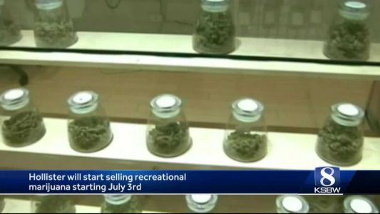 Recreational marijuana to be sold in Hollister starting July 3