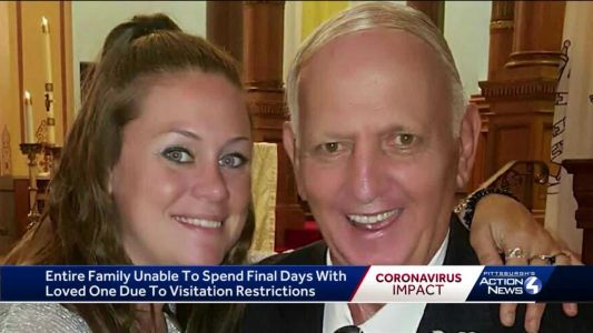 Family unable to spend final days with loved one due to visitation restrictions