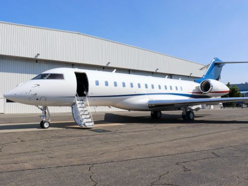 This brand-new $56 million Bombardier Global 6500 private jet can fly 6,600 nautical miles and is now for sale - see inside