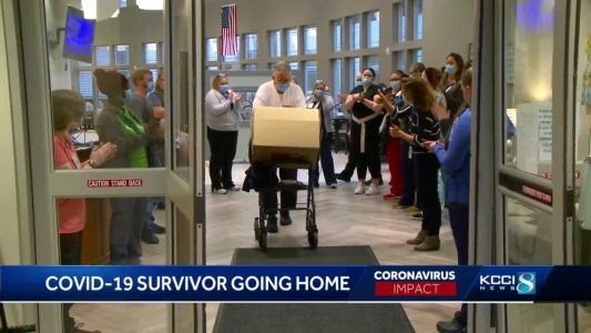 'I am feeling good': COVID-19 survivor returns home for the holidays