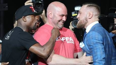Dana White says talks with Floyd Mayweather are ongoing over future event, but insisted Conor McGregor is 'retired'
