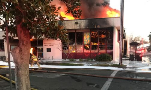 Boys, 13, Charged With Murder for Fire at California Library That Killed 2 Firefighters