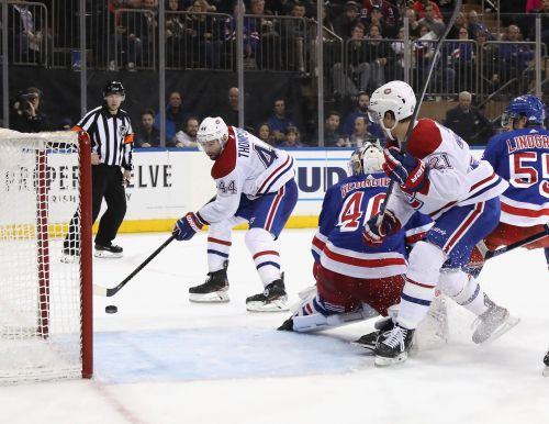 Rangers give up late goal in tough loss to Canadiens