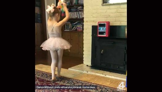 Free virtual dance classes from a Greenville ballet studio keep kids moving during coronavirus outbreak