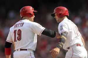 Winker's HR ends Dodger streak, Reds get 4-0 win over LA