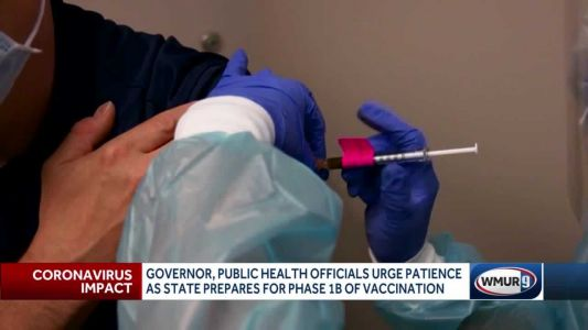 Governor, health officials urge patience as new vaccination phase set to begin