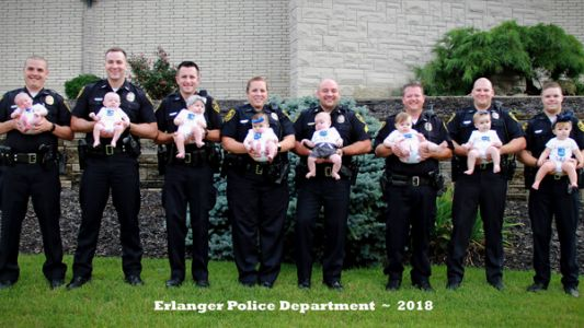 'There's something in the water:' Police department sees baby boom
