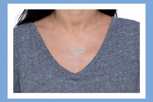 Give your jewelry a personal touch with Maya J initial necklaces that are over 45% off