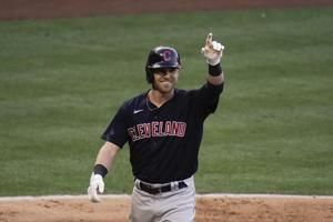 Indians trade 1B Bauers to Mariners for player or cash