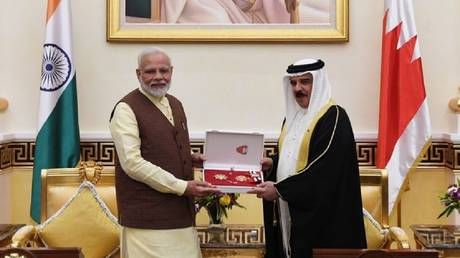'Honor for entire India!' Modi scores two high state awards on Persian Gulf tour