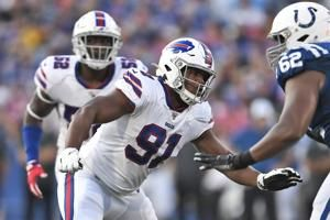 Bills rookie Oliver boosted by Kyle Williams' crash course