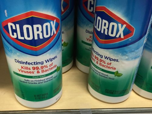 Clorox wipes will be hard to find until 2021, thanks to a 'very complex' supply chain shared with personal protective equipment